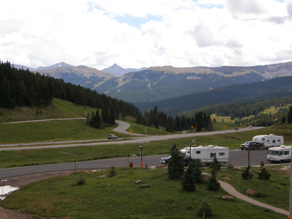 Summit of Vail Pass, CO